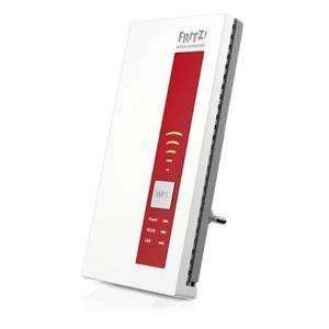 [eBay Plus] AVM FRITZ! Wireless Lan Repeater 1750E (Dual-WLAN AC + N bis zu 1.300 MBit/s 5 GHz + 450MBit/s 2,4 GHz) in Rot/Weiß, DE-Version