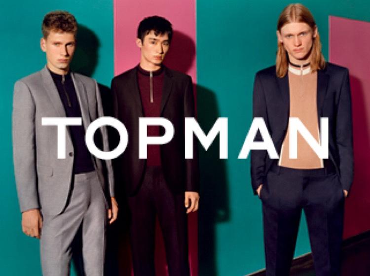Black Friday bei Topman: bis zu 50% Rabatt