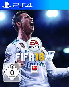 FIFA 18 neu für 30,- bei eBay // mit Steelbook 39,99 € (jeweils für PS4) mit CODE PLUSBUNT