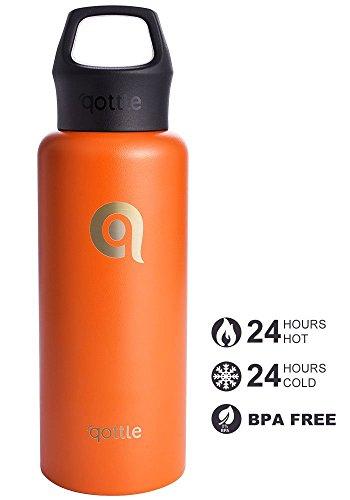 [Amazon] Trinkflasche Edelstahl Wasserflasche 550ml Vakuum-Isolierte Thermosflasche - BPA Frei 12,34 €