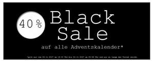[World of sweets] 40% auf alle Adventskalender