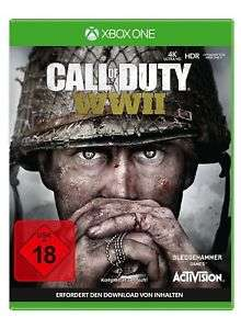 Call of Duty: WWII (XBox One) oder (PS4 = AUSVERKAUFT) [eBay plus]