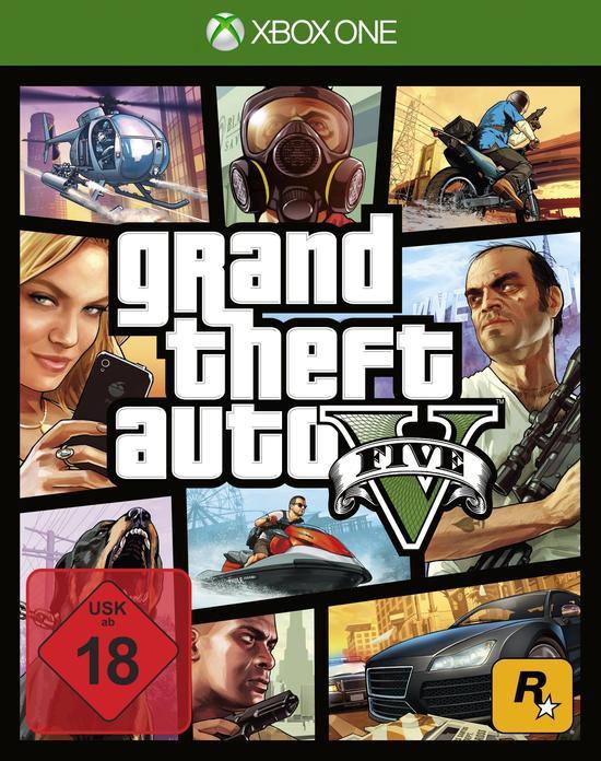 Grand Theft Auto V (Xbox One) für 23,99€ (Müller + GameStop)