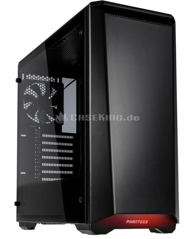 PHANTEKS Eclipse P400S Midi Tower 69,99€ (+5,99 Versand )  Temperd Glass   Schwarz   Gedämmt