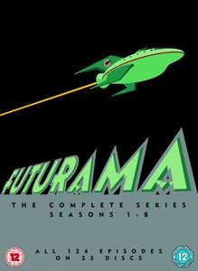 Futurama - Die komplette Serie - 124 Episoden auf 23 Discs - DVD Box Set [Amazon UK]