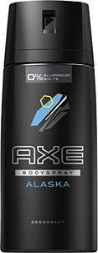 AXE Deospray Alaska ohne Aluminium, 3er Pack (3 x 150 ml) [Amazon]