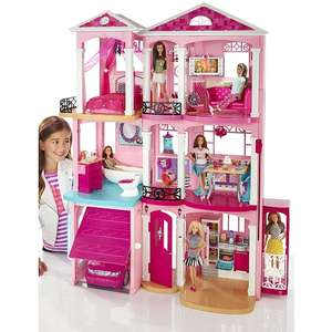 Barbie Traumvilla (CJR47/FFY84) 111,98€ bei ToysRus und Amazon