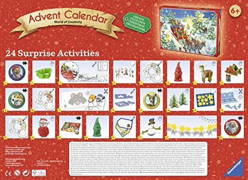 [Amazon Plus Produkt] Ravensburger 11673 - DIY Adventskalender 2017 - World of Creativity für 4,99 €