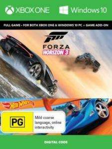 Forza Horizon 3 inkl. Hot Wheels DLC (Xbox One/PC Digital Code Play Anywhere) für 24,56€ (CDKeys)
