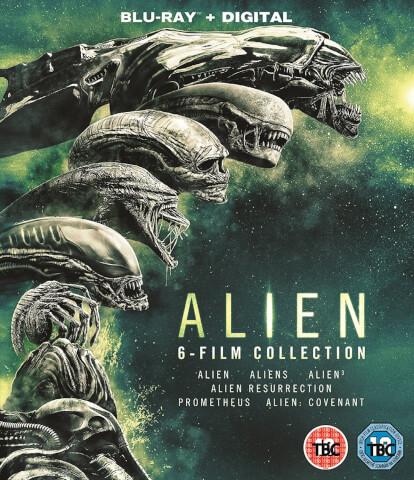Alien 1-6 Boxset Blu-ray