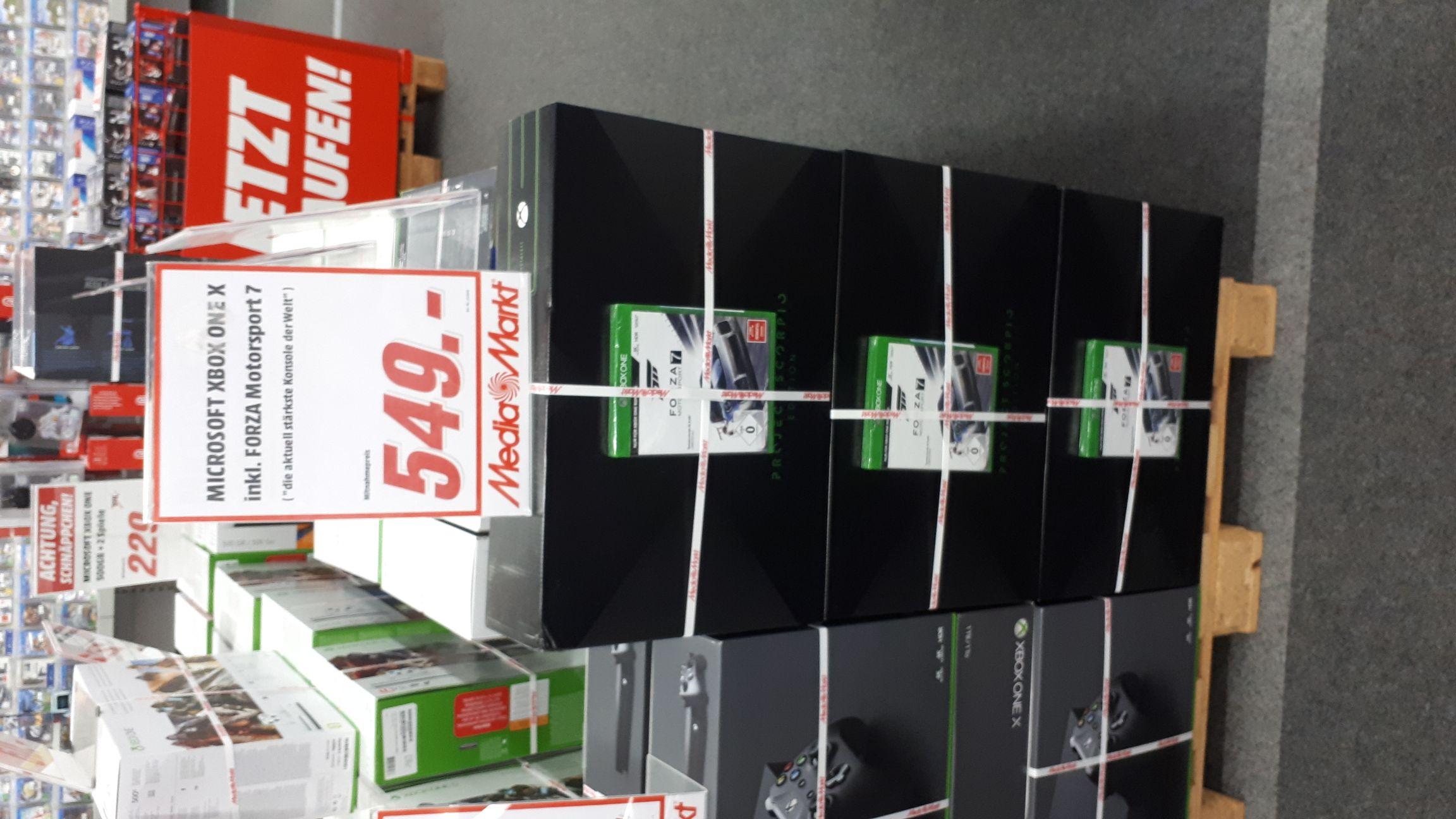 Xbox One X Scorpio Edition + Forza 7
