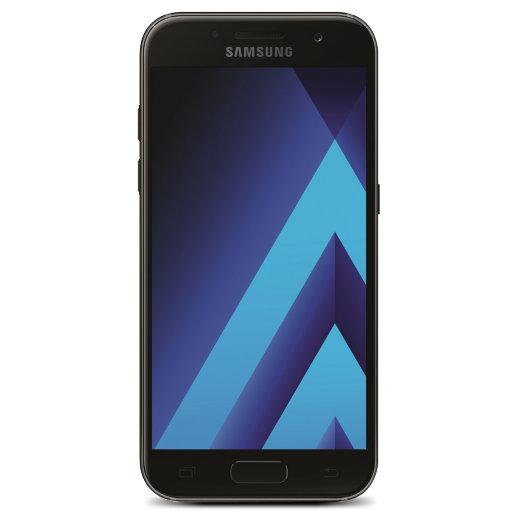 Samsung Galaxy A3 (2017) in Schwarz inkl. Aldi-SIM-Karte und 10 € Guthaben