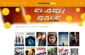 Black Friday Blockbuster im maxdome-Store:  z.B. Der Marsianer, Ted 2, Guardians Of The Galaxy 2 etc. ab 0,99€ in HD leihen