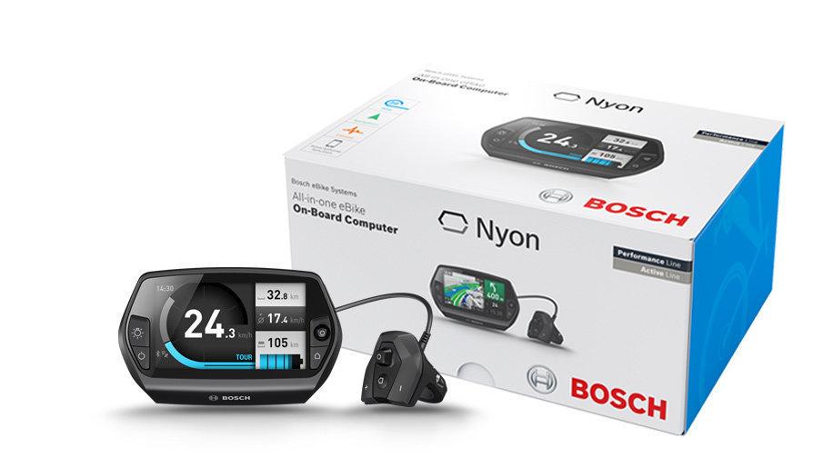 Bosch Nyon Nachrüst-Kit für eBikes mit Bosch-Antrieb