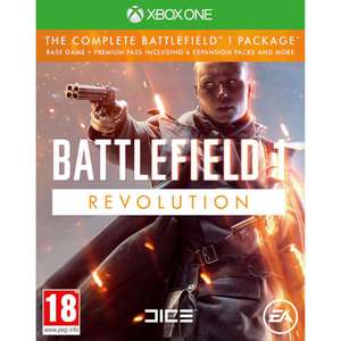 [Xbox One] Battlefield 1 Revolution und weitere Spiele bei Zavvi.com