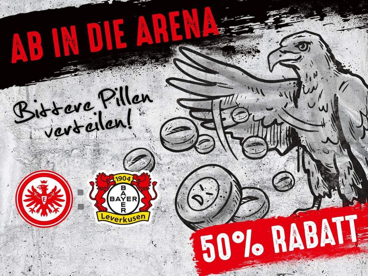 [SGE] Eintracht Frankfurt Tickets gegen Leverkusen zum halben Preis