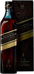 Johnnie Walker Double Black Blended Scotch Whisky (1 x 0.7 l) bei Amazon