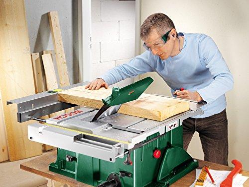 [Amazon] Bosch DIY Tischkreissäge PTS 10, Spaltkeil, Tischverlängerung, Winkelanschlag, Absaugschlauch, Karton (1400 W, Kreissägeblatt Nenn-Ø 254 mm, Schnitttiefe bei 90° 75 mm)