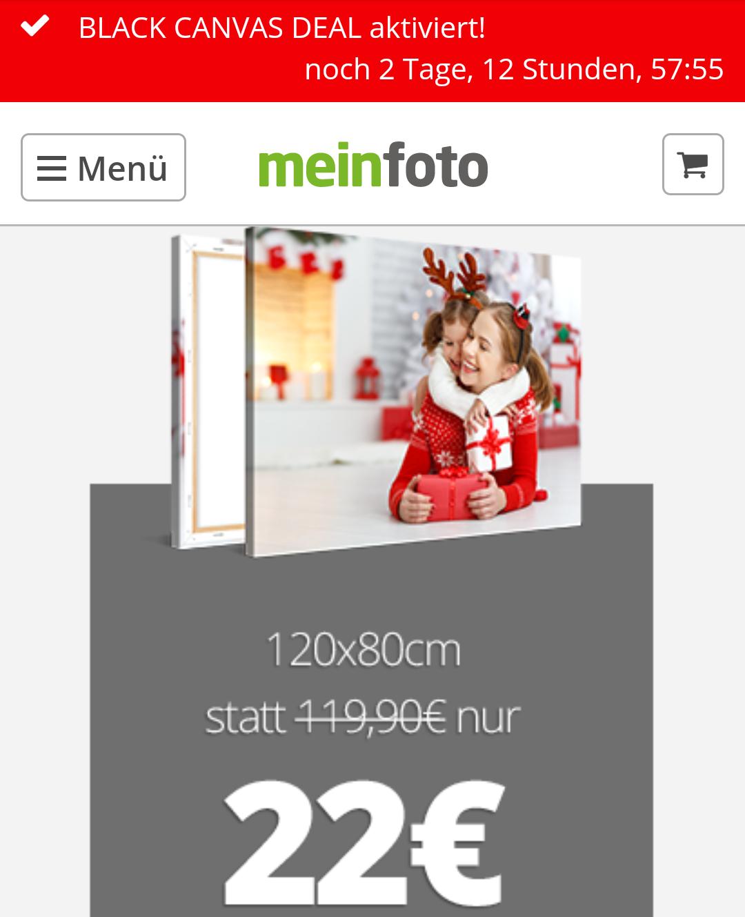 [meinfoto] Leinwand 120x80 cm (21-22.03.2018 verfügbar!)