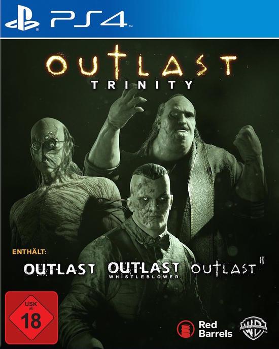 Outlast: Trinity (PS4 & Xbox One) für je 14,99€ (GameStop)