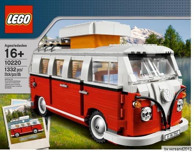LEGO CREATOR 10220 Volkswagen T1 Campingbus durch Ebay WOW Gutscheincode