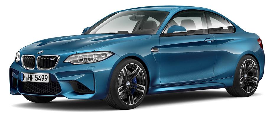 Sixt-Sonderaktion: BMW M2 Coupé Leasing für monatlich 554,42€ - LF 0,90