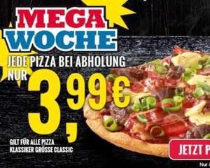 Dominos Klassiker Pizza  für 3,99€ (Local)