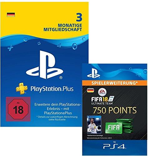 GRATIS 750 FIFA 18 Points beim Kauf von 3M PS Plus