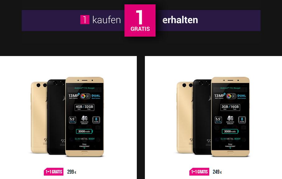 Smartphones von Allview Mobile im Black Friday Deal in 2 für 1 Aktionen oder bis 41% reduziert