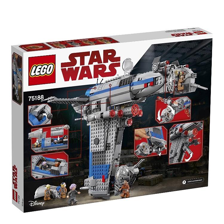 Amazon.de Lego Star Wars Resistance Bomber