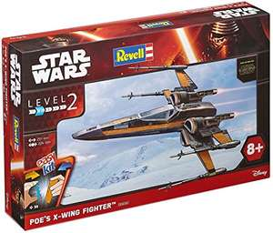 [Amazon & mytoys] Revell Modellbausatz Star Wars Poe´s X-wing Fighter im Maßstab 1:50, Level 2