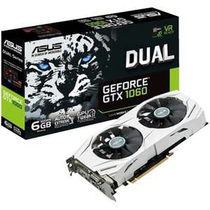 [EBAY PLUS] ASUS Geforce GTX 1060 DUAL 6GB