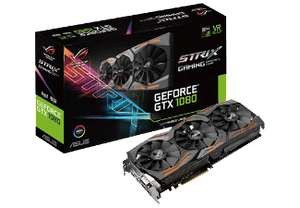 (AUSVERKAUFT) ASUS GeForce GTX 1080 ROG Strix Advanced 8GB Gaming