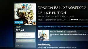 PS Strore - Dragon Ball Xenoverse 2 deluxe edition