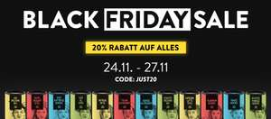 20% auf Alles bei Just Spices [Black Friday]