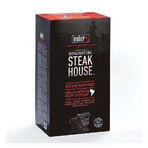 Weber Steakhouse Premium Holzkohle 3kg für 2,69€+4,90€VSK bei Amazon oder 2,42€ bei Hornbach lokal