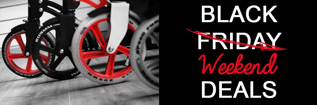 [Black-Weekend] Scooter, Skateboards und Schaukeln für -20% dank Gutschein BLK17