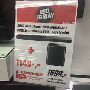 "MM Lokal [Köln-Chorweiler] Red Friday ""Bose Soundtouch + Acoustimass 300"""