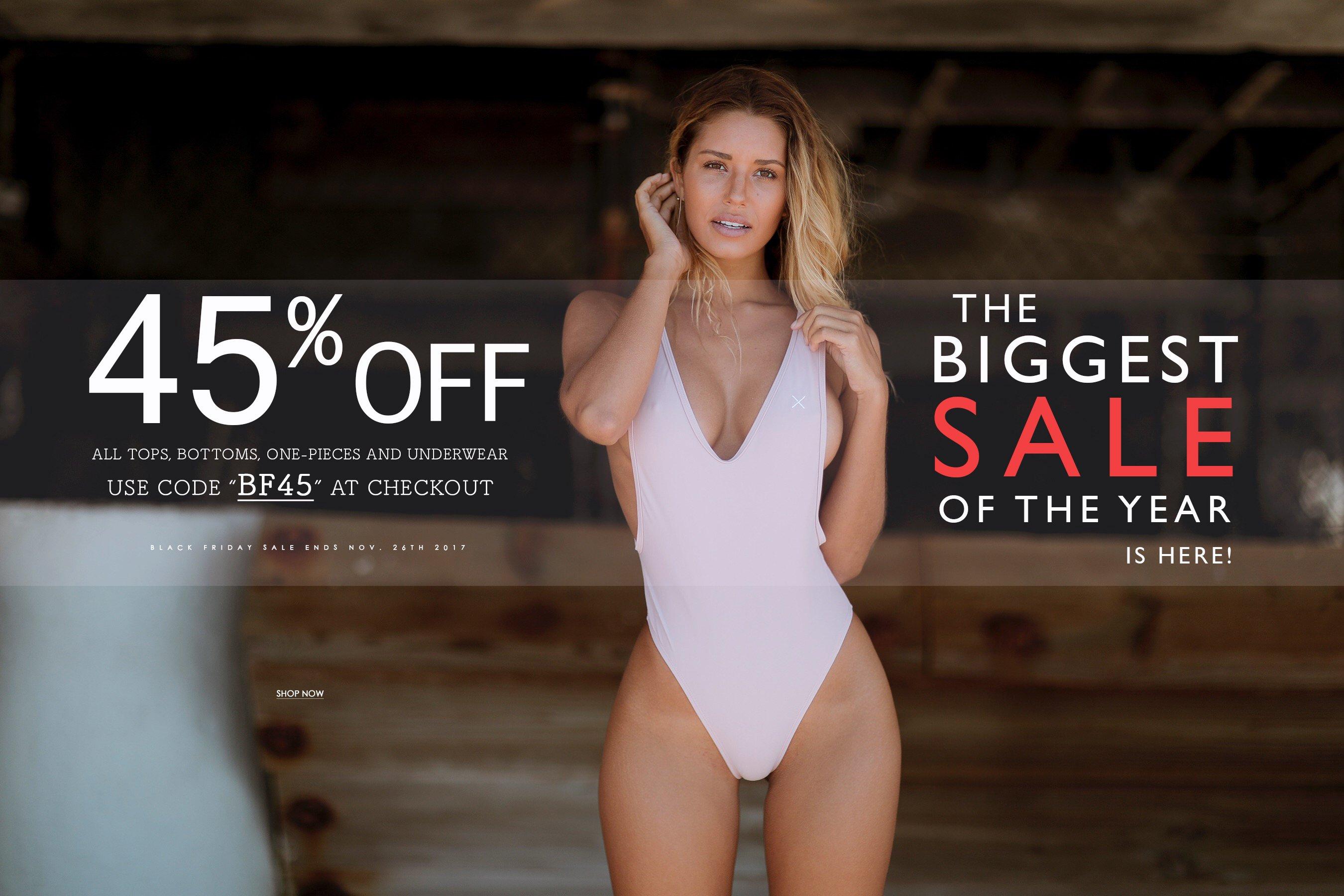 45% auf alle Artikel bei BoutineLA Swimwear Blackfriday