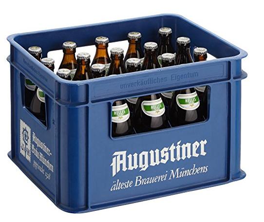 [Lokal München Amazon Prime Now] 1 Kasten Augustiner für 10€ (+3,99€ Versand unter 40€)