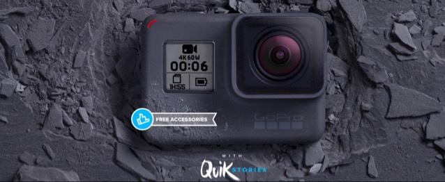 [direkt von GoPro !] Hero 6 inkl. Remo(te) und Micro SD