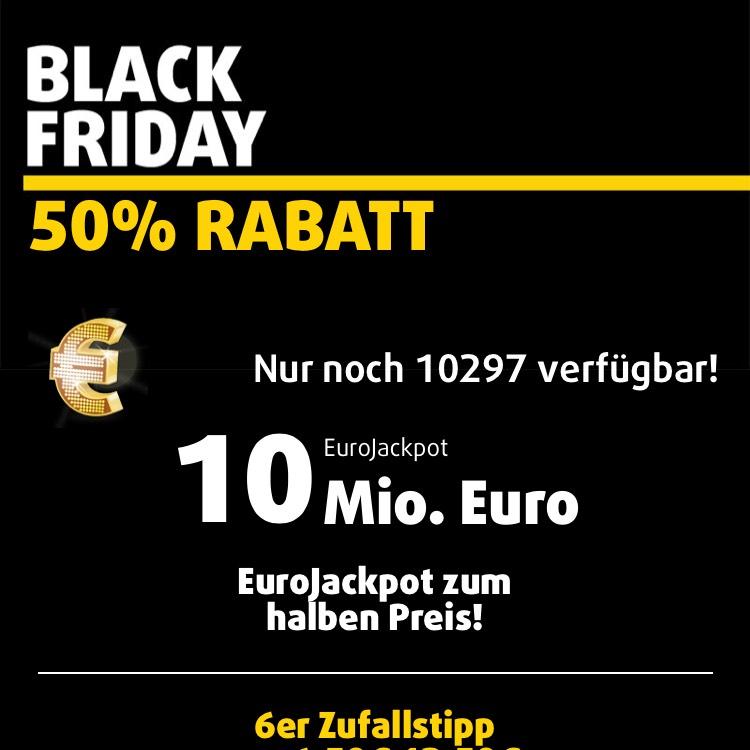 Lottoland: 50% auf EuroJackpot