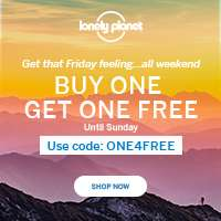 LonelyPlanet (Englische Seite) Buy One Get One Free
