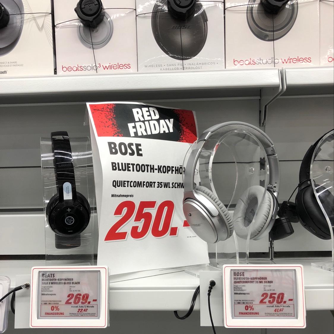 (MM Weinheim) Bose QC 35 für 250€