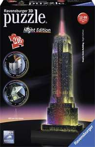Ravensburger 3D Puzzle Empire State Building Night Edition