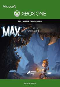 Max: The Curse of Brotherhood (Xbox One Digital Code) für 98 Cent (CDKeys)