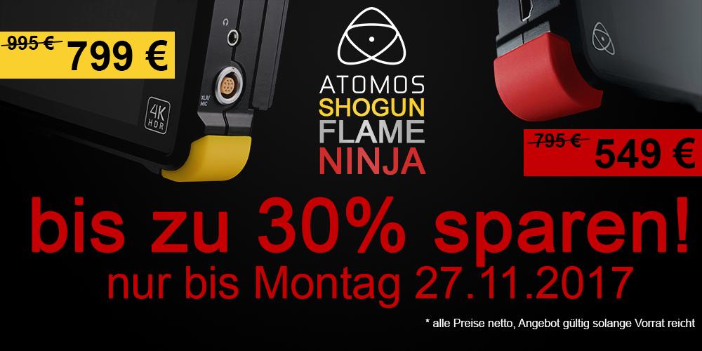 Atomos Ninja Flame (4K-Rekorder) bei vielen Händlern in ganz Deutschland