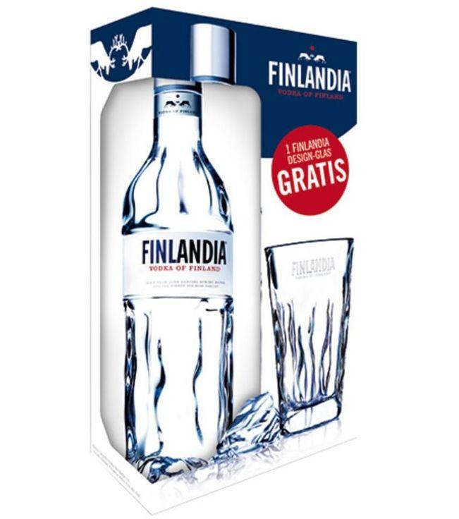 [real.de] 3 Flaschen Finlandia Vodka für 29.97€ = Einzelpreis je 9.99€ inkl. Cocktailglas