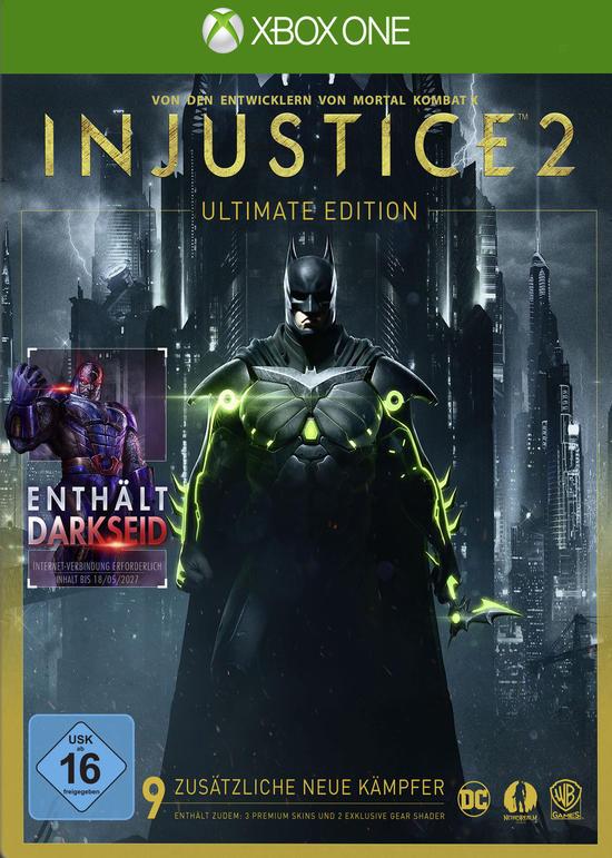 Injustice 2 (Standard Edition) Xbox One und PS4 für 24,99€