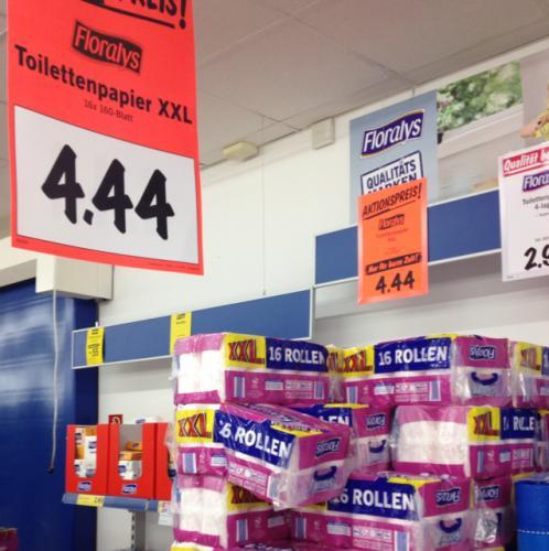 16 Rollen Floralys SuperSoft Toilettenpapier bei LIDL